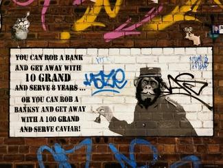 Rob a Banksy ...
